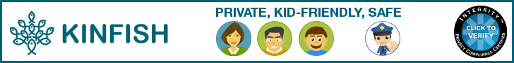 Kinfish - Private, Kid Friendly, Safe Social Network for the Family